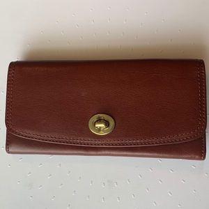 Coach Legacy Leather Slim Envelope Wallet